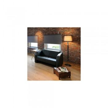 SLV 155652 Chrome/White/Black Bishade SL-1 Floor Light