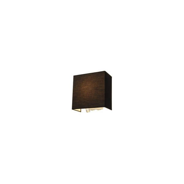 SLV 155670 Black Accanto LEDspot Warm White Wall Light
