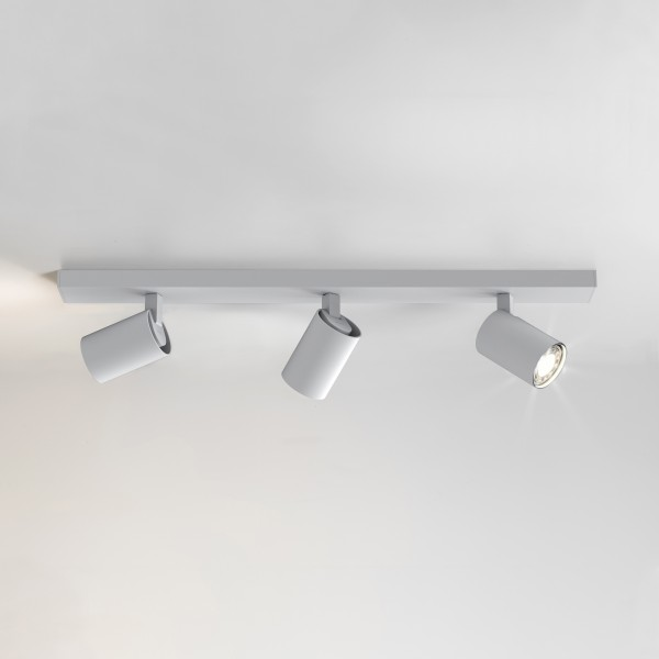 Astro Ascoli Triple Bar 1286003 White Finish Interior Spotlight
