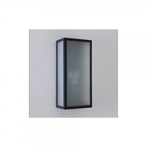 Astro Lighting Messina Frosted 1183003 Textured Black Exterior Wall Light