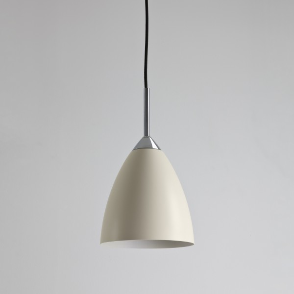 Astro Lighting Joel Pendant 1223017 Cream Finish Ceiling Light