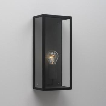 Astro Lighting Messina 1183001 Black Outdoor Wall Light