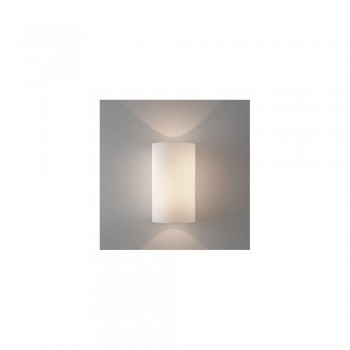 Astro Lighting Cyl 200 1186001 White Glass Wall Light