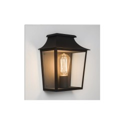 Astro Lighting Richmond 235 1340001 Black finish with clear glass Exterior wall-light