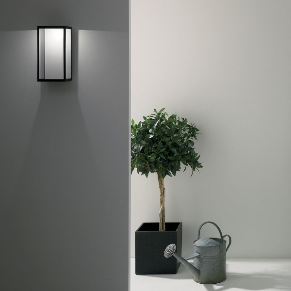 Astro Puzzle 1199001 Black Outdoor LED Wall Light