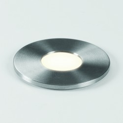 Astro Terra 28 Round 1201003 Stainless Steel Finish Exterior Ground-light