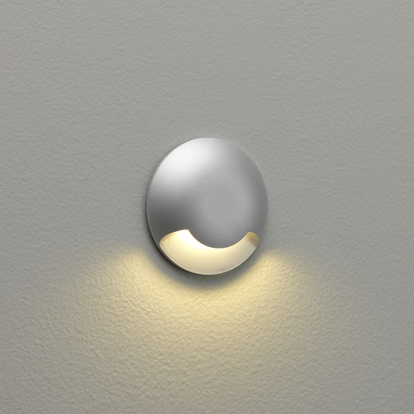 Astro Beam One 1202001 Painted Silver Outdoor Beam Wall Light