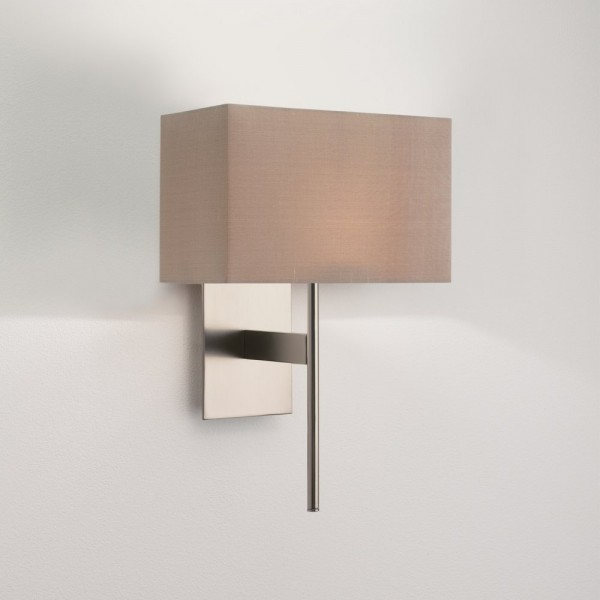 Astro Lighting San Marino Solo 1076006 Matt Nickel Wall Light