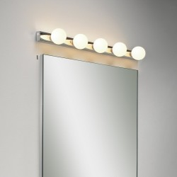 Astro Lighting Cabaret 5 1087003 Polished Chrome Bathroom Wall Light