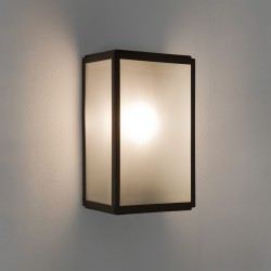 Astro Homefield Sensor 1095011 Matt Black Exterior Wall Light