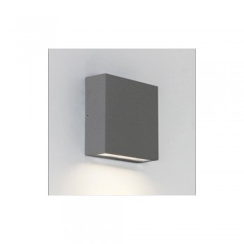 Astro Lighting Elis Single 1331003 Painted Silver Finish Wall-light