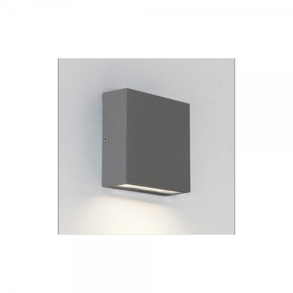 Astro Lighting Elis Twin 1331004 Painted Silver finish LED Wall-light