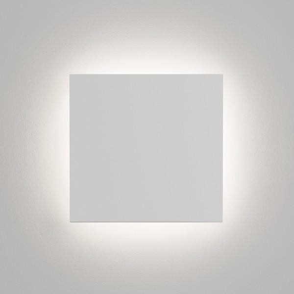 Astro Eclipse Square 1333001 White plaster Finish Interior wall-light