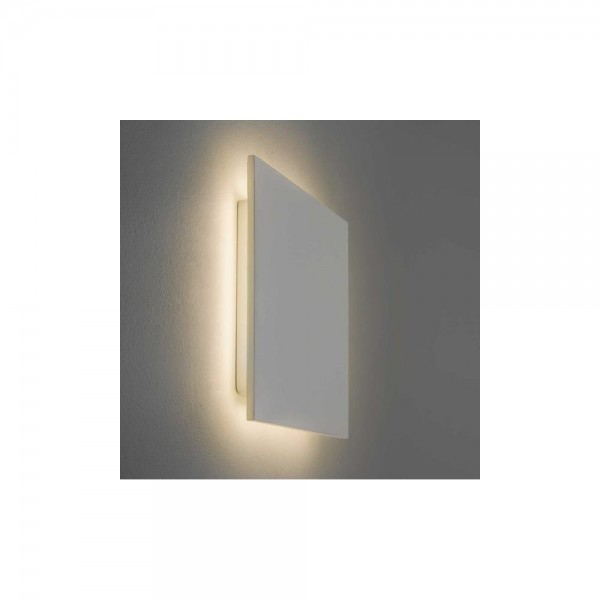 Astro Lighting Eclipse Square 1333001 White plaster Finish Interior wall-light