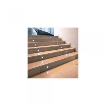 SLV 227461 Stainless Steel Trail-Light LED White Outdoor Wall & Ground Light