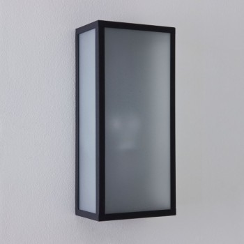 Astro Messina Sensor 1183004 Textured Black Exterior Wall Light