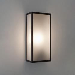 Astro Messina Sensor 1183004 Textured Black Exterior Wall Light