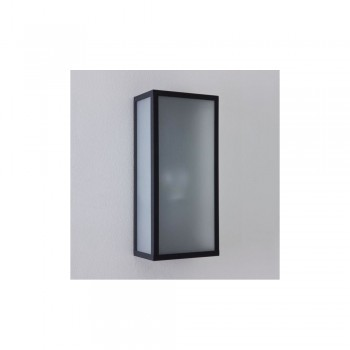 Astro Lighting Messina Sensor 1183004 Painted black finish, white frosted glass diffuser Exterior wall-light