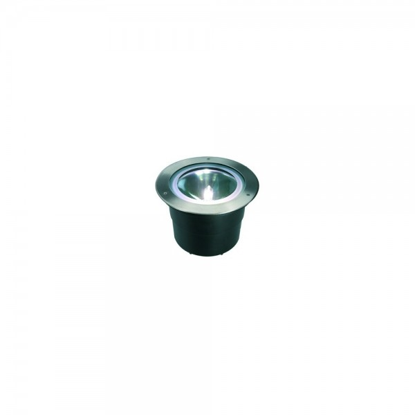 SLV 228240 Stainless Steel Adjust Round HQI 70 Outdoor Wall & Ground Light