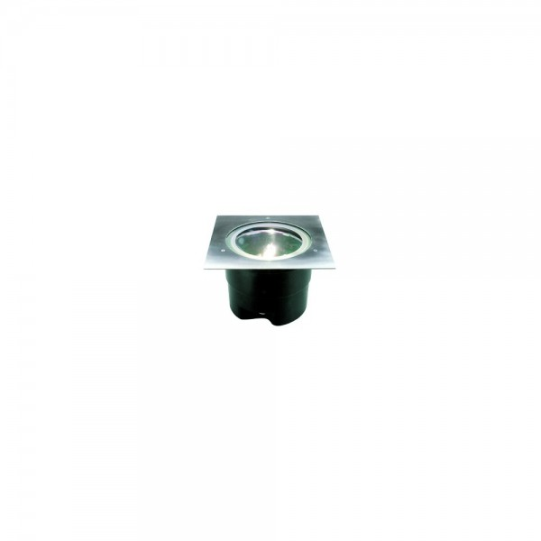 SLV 228244 Stainless Steel Adjust Square HQI 70 Outdoor Wall & Ground Light