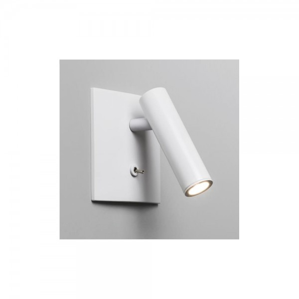 Astro Lighting Enna Square Switched 1058016 White Finish Interior Wall-light