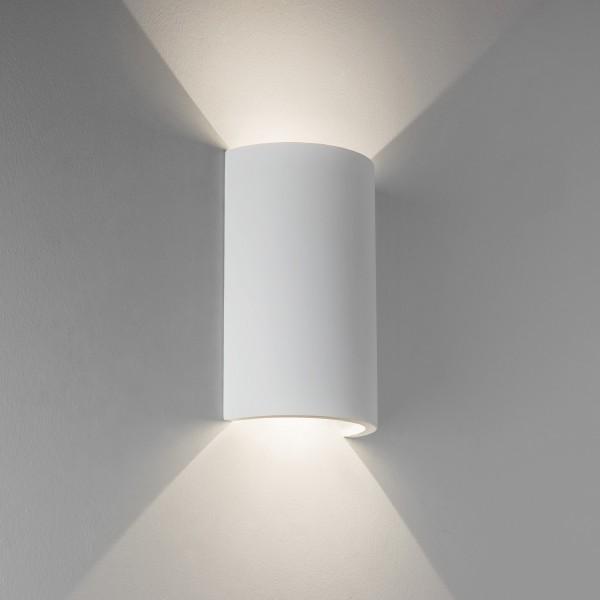 Astro Serifos 170 1350001 White plaster finish LED interior wall-light