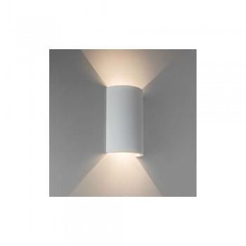 Astro Lighting Serifos 170 1350001 White plaster finish LED interior wall-light