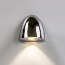 Astro Orpheus 1348001 Polished chrome finish Recessed LED wall-light