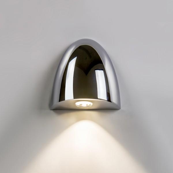 Astro Orpheus 1348001 Polished chrome finish Recessed LED wall-light