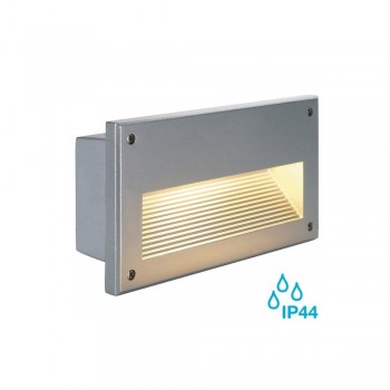SLV 229062 Silver Grey Brick Downunder E14 Outdoor Wall Light