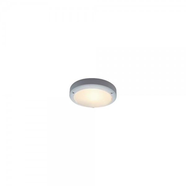 SLV 229072 Silver Grey Bulan Outdoor Ceiling & Wall Light
