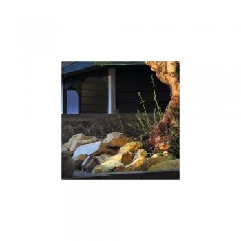 SLV 229090 Stainless Steel Nautilus MR16 Outdoor Ceiling, Wall & Floor Spotlight