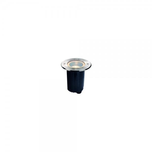 SLV 229320 Stainless Steel Dasar 115 GU10 Round Outdoor Ground Light