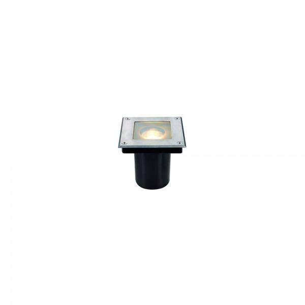SLV 229374 Stainless Steel Dasar Square GU10 Outdoor Ground Light