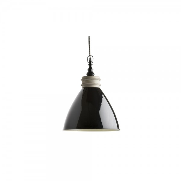 Black Suspension Powder Coated Pendant CC-2053-BLK