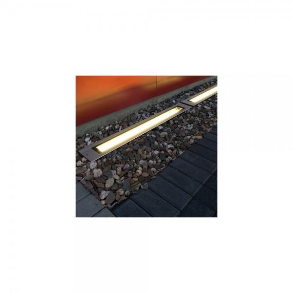 SLV 230110 Stainless Steel Dasar T5-21 Outdoor Ground Light