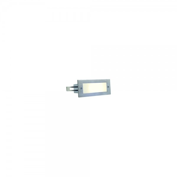 SLV 230232 Stainless Steel Brick LED 16 Warm White Outdoor Wall Light