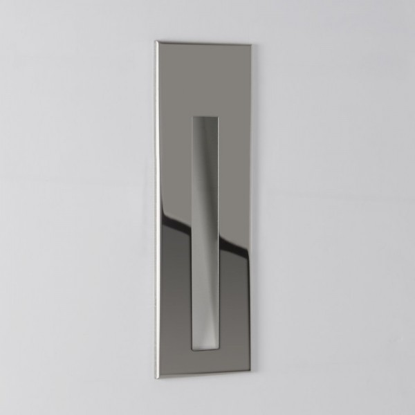 Astro Lighting Borgo 55 1212002 Polished Chrome Recessed LED Wall Light