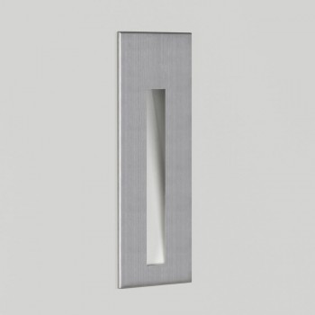 Astro Lighting Borgo 55 1212003 Brushed Stainless Steel Recessed LED Wall Light
