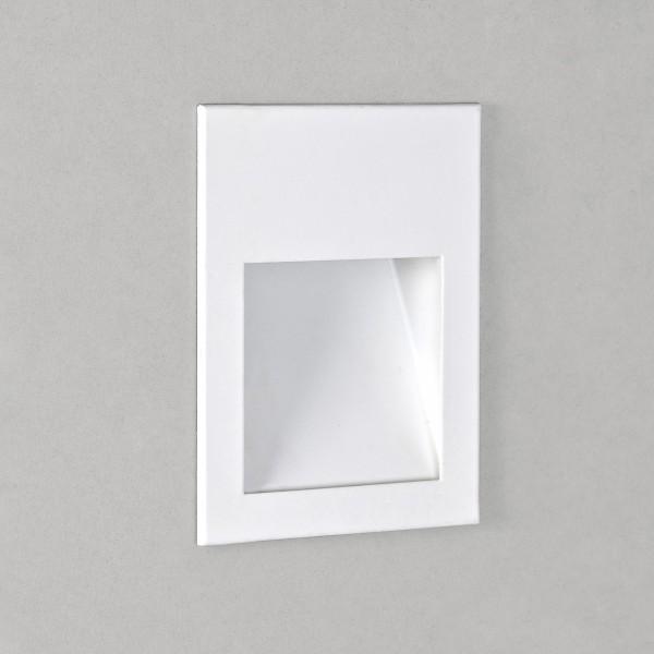 Astro Borgo 90 1212004 White Recessed LED Wall Light