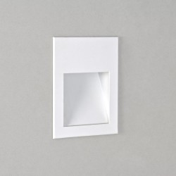 Astro Lighting Borgo 90 1212004 White Recessed LED Wall Light