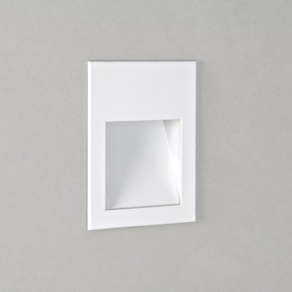 Astro Lighting Borgo 90 1212004 White Recessed LED Wall Light