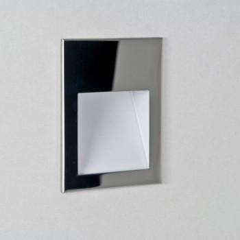 Astro Lighting Borgo 90 1212005 Polished Chrome Recessed LED Wall Light