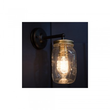 Culinary Concepts CC-6414 Preserve Jar Wall Light