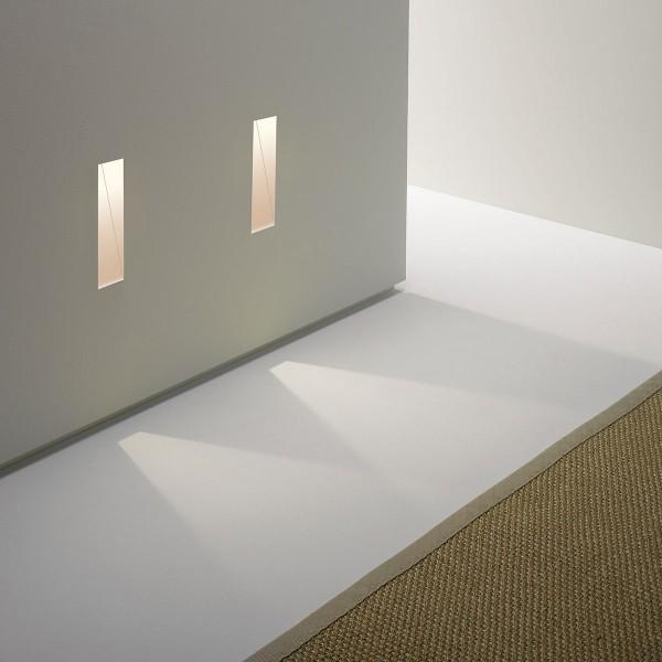 Astro Borgo 35 1212007 White Plastered-In LED Wall Light