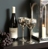 Culinary Concepts 6116-2 Pair of Hammered Wine Goblets