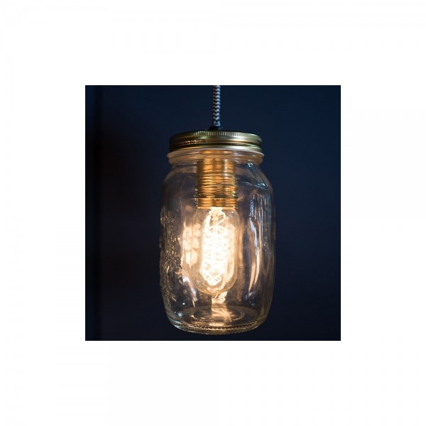 Culinary Concepts CC-6415 Single Preserve Jar Pendant Light