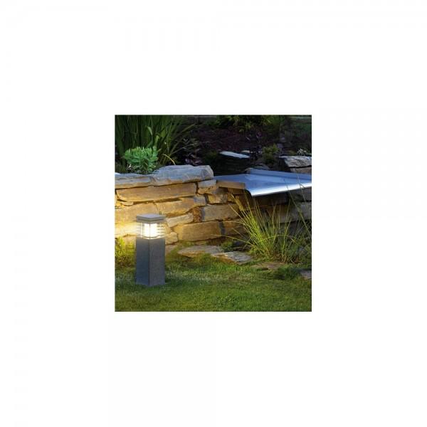 SLV 231410 Salt & Pepper Arrock Granite 40 Outdoor Bollard Light