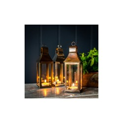 Culinary Concepts 5509BC-MINI Mini Burnished Copper Tonto Lantern