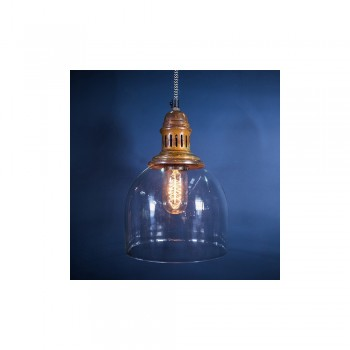 Culinary Concepts CC-2133-BRCP Burnished Copper Whitechapel Hanging Light